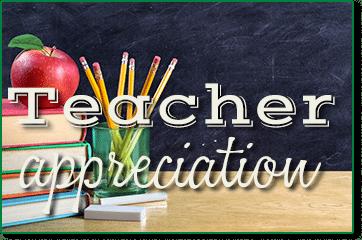 teacher appreciation weekend
